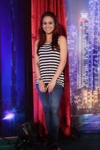 Actress Aksha Pardasany @ AIINA Women Awards 2014 Curtain Raiser Stills