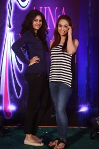 Kamna Jethmalani, Aksha @ AIINA Women Awards 2014 Curtain Raiser Stills