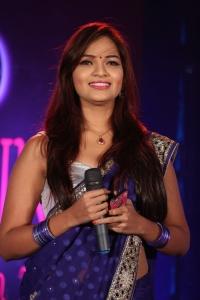 Actress Ashwini @ AIINA Women Awards 2014 Curtain Raiser Stills