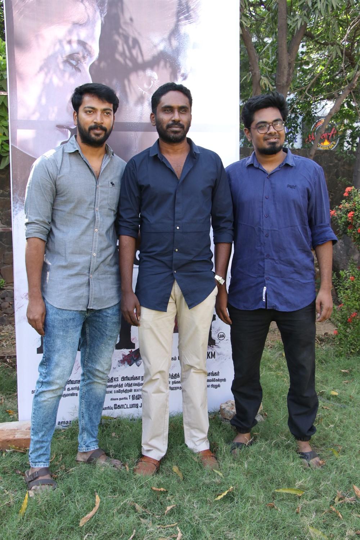 Kalaiyarasan, Sarjun KM, Sundaramurthy KS @ Airaa Movie Press Meet Stills