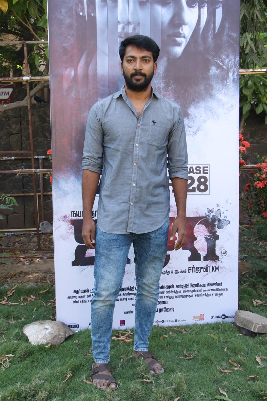 Hero Kalaiyarasan @ Airaa Movie Press Meet Stills