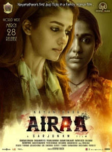 Nayanthara Airaa Movie Release Posters