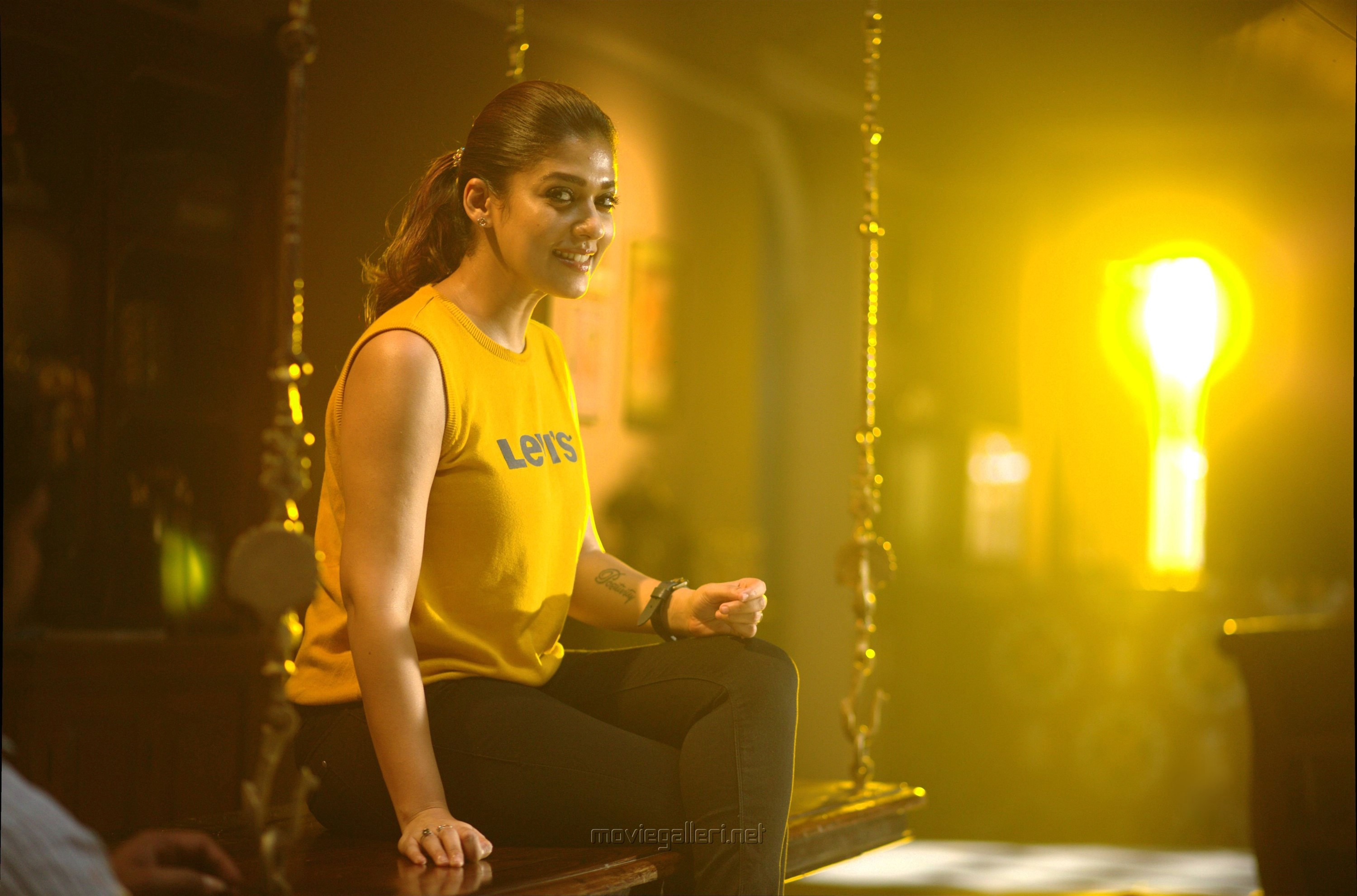 Actress Nayanthara in Airaa Movie Stills HD
