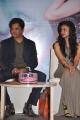 Arjun with daughter Aishwarya Press Meet Photos