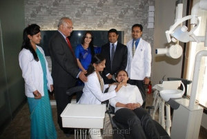 Aishwarya Dhanush at Apollo Hospital Stills