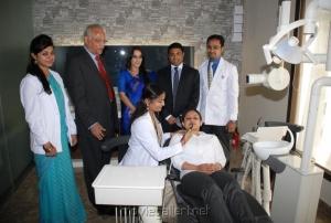 Aishwarya Rajinikanth at Apollo Hospital Stills