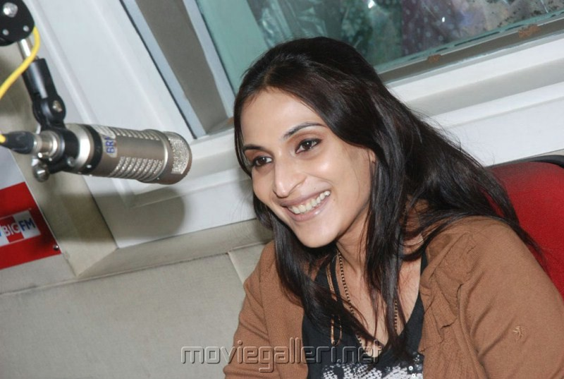 Aishwarya Dhanush at Big FM Studio Chennai