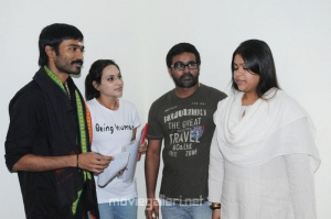 Aishwarya to Direct Dhanush Movie Launch Photos