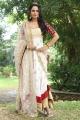 Tamil Actress Aishwarya Dutta Pics in White Churidar Dress