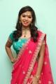 Actress Aishwarya Lakshmi Saree Stills @ Lanzo Salon Launch