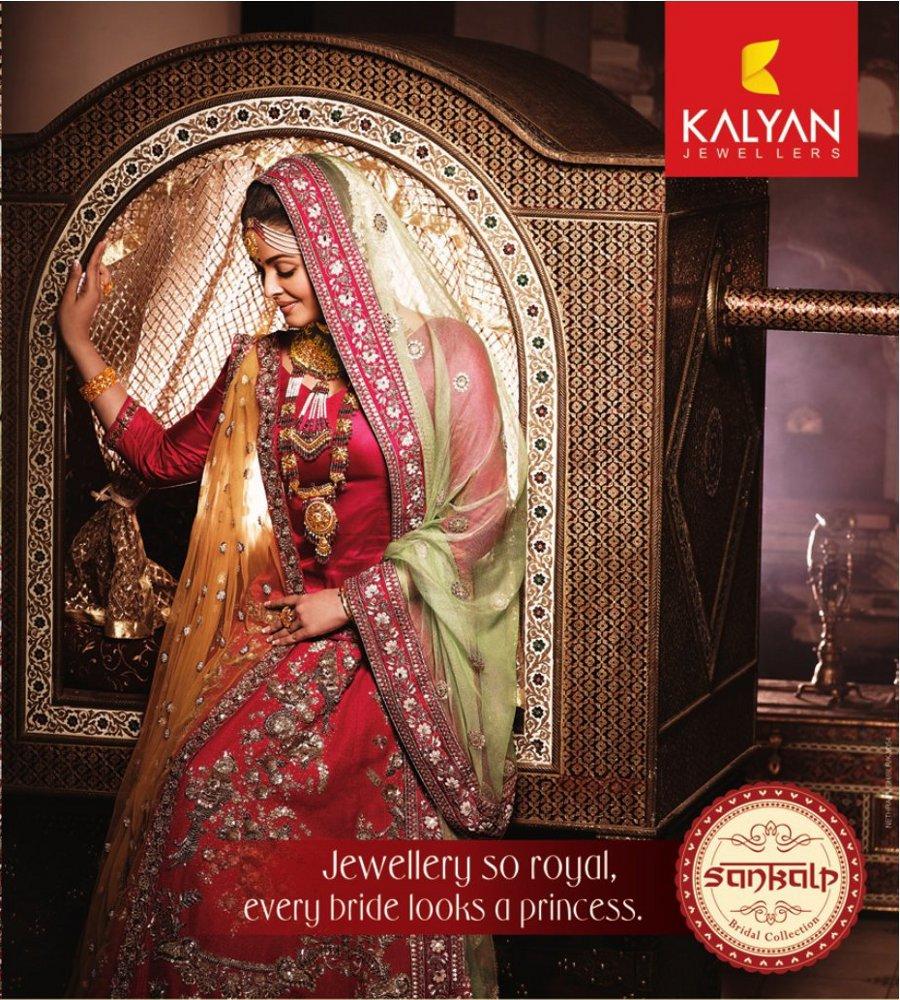 Aishwarya Rai in Kalyan Jewellers Photoshoot Stills