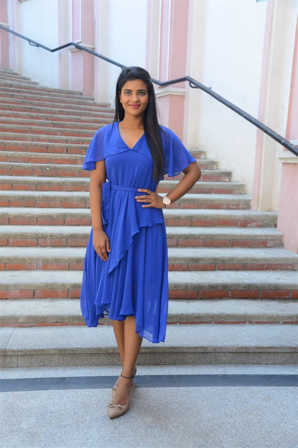 Actress Aishwarya Rajesh Latest Stills @ Kousalya Krishnamurthy Success Meet