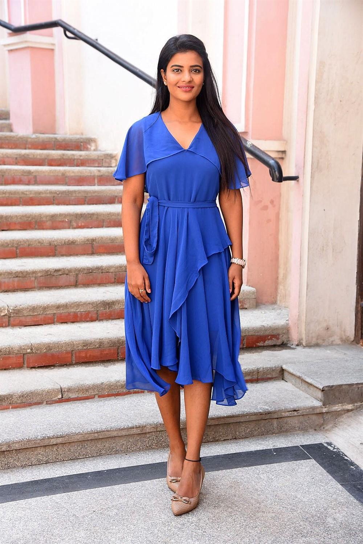 Actress Aishwarya Rajesh Stills @ Kousalya Krishnamurthy Success Meet
