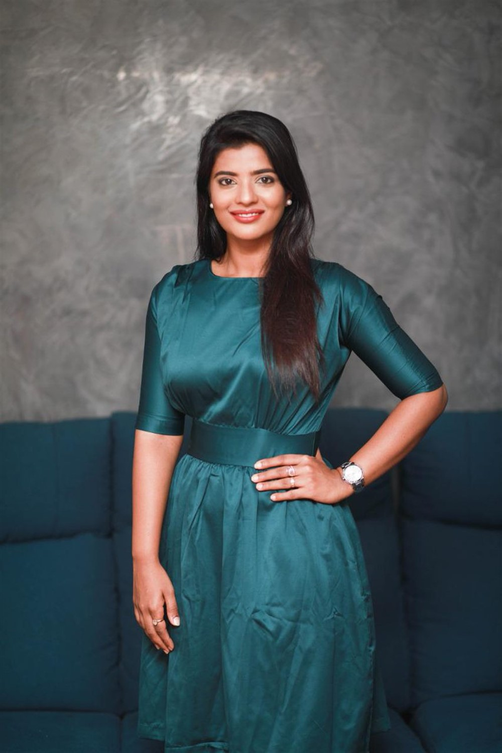 Actress Aishwarya Rajesh Photoshoot Pictures