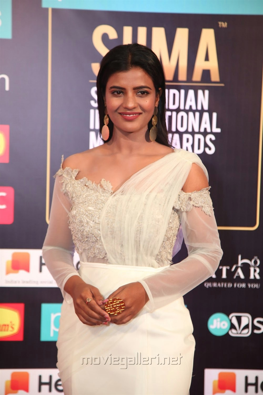Actress Aishwarya Rajesh Pics @ SIIMA Awards 2019 Day 2