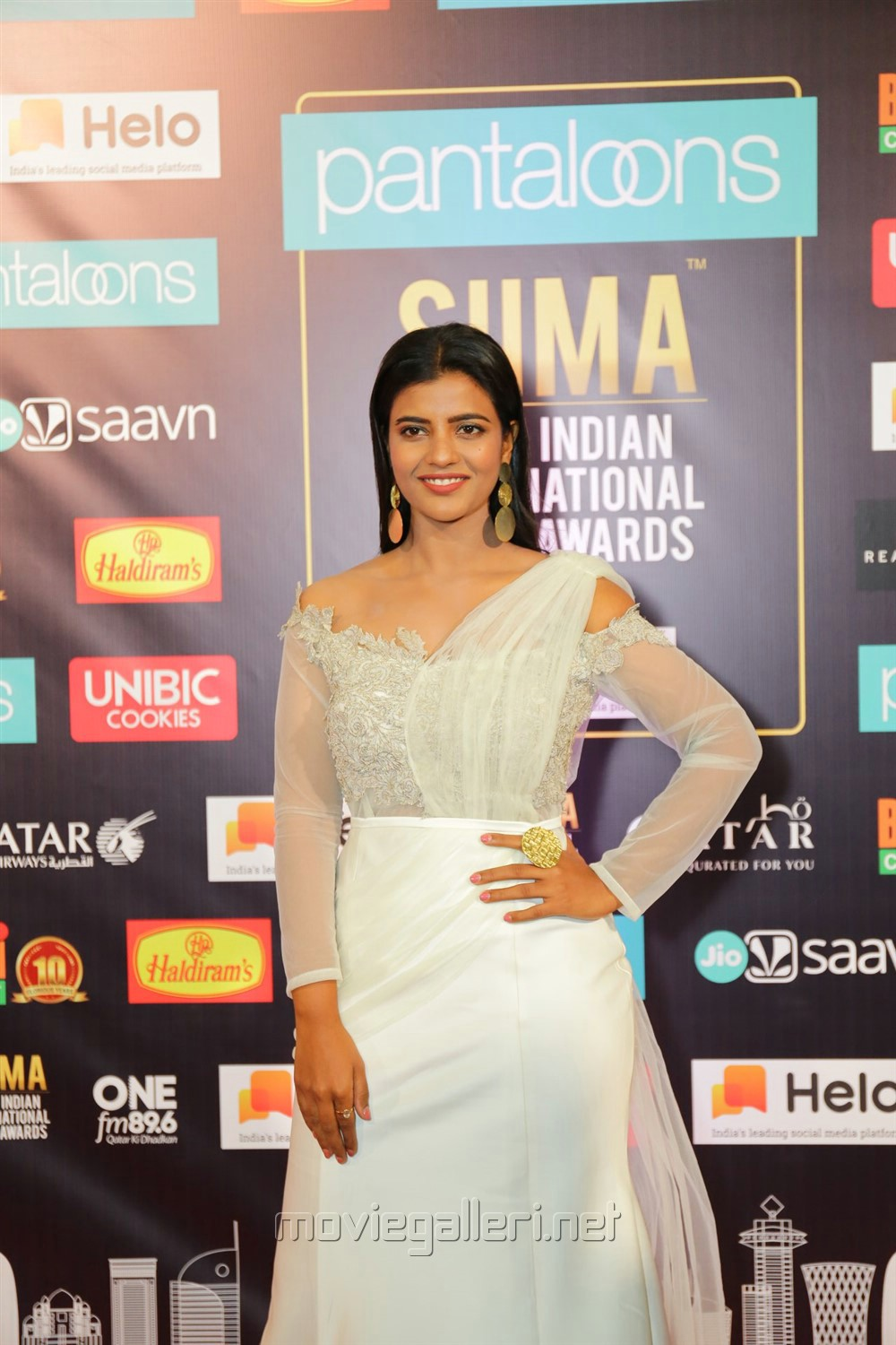 Actress Aishwarya Rajesh Pics @ South Indian International Movie Awards 2019 Day 2