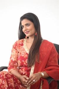 Heroine Aishwarya Rajesh Cute Photos @ Republic Movie Interview