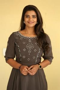 Actress Aishwarya Rajesh New Pics @ World Famous Lover Movie Interview