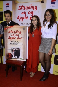 Karan Johar, Aishwarya Rajinikanth, Sonakshi Sinha @ Standing on an Apple Box Book Launch Stills