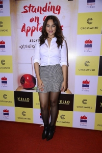 Actress Sonakshi Sinha @ Aishwarya Rajinikanth's Standing on an Apple Box Book Launch Stills
