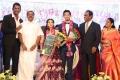 AC Shanmugam @ Vishal sister Aishwarya Wedding Reception Stills