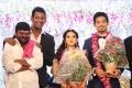 Actor Ganja Karuppu @ Vishal sister Aishwarya Wedding Reception Stills
