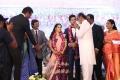 Actor Rajini @ Vishal sister Aishwarya Wedding Reception Stills
