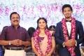 Actor Sivakumar @ Vishal sister Aishwarya Reddy Kritish Wedding Reception Stills