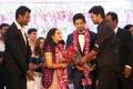 Actor Vijay @ Vishal sister Aishwarya Reddy Wedding Reception Stills