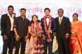 Actor Vijay @ Vishal sister Aishwarya Wedding Reception Stills