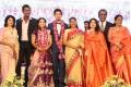 Actress Sharada @ Vishal sister Aishwarya Wedding Reception Stills