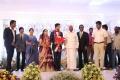Arcot N Veerasamy @ Vishal sister Aishwarya Wedding Reception Stills