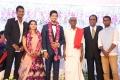 CPI leader Tha Pandian @ Vishal sister Aishwarya Wedding Reception Stills