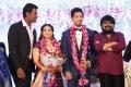 Director Vikraman @ Vishal sister Aishwarya Reddy Wedding Reception Stills