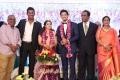 Janaki Devi, GK Reddy @ Vishal sister Aishwarya Wedding Reception Stills