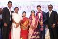 Ma Foi K. Pandiarajan @ Vishal sister Aishwarya Wedding Reception Stills