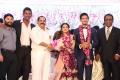 Producer KT Kunjumon @ Actor Vishal sister Aishwarya Wedding Reception Stills