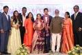SA Chandrasekhar @ Vishal sister Aishwarya Wedding Reception Stills