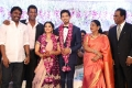 Actor Vishal sister Aishwarya Wedding Reception Stills
