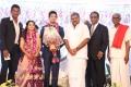 TMC Chief GK Vasan @ Vishal sister Aishwarya Wedding Reception Stills