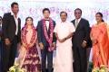 Tamilaruvi Manian @ Vishal sister Aishwarya Wedding Reception Stills