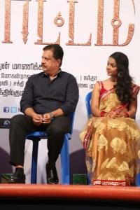 Jayaprakash, Nithya Shetty @ Aivaraattam Movie Audio Launch Stills