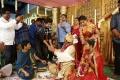 Nithin @ RX100 Movie Director Ajay Bhupathi Wedding Photos