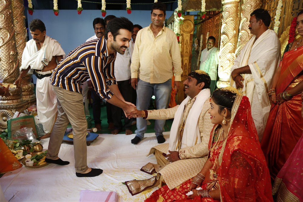 Ram Pothineni @ RX100 Movie Director Ajay Bhupathi Wedding Photos