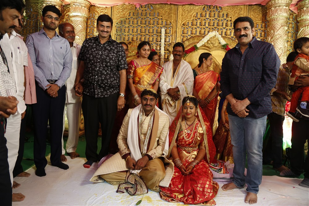 Rao Ramesh @ RX100 Movie Director Ajay Bhupathi Wedding Photos