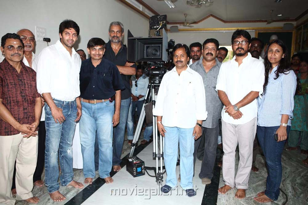 Ajith Arya Movie Launch Stills