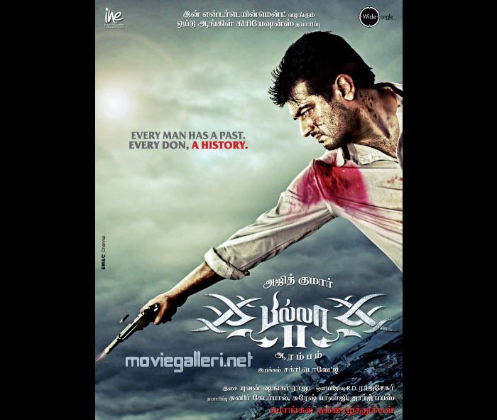 Billa 2 Ajith New Look Posters
