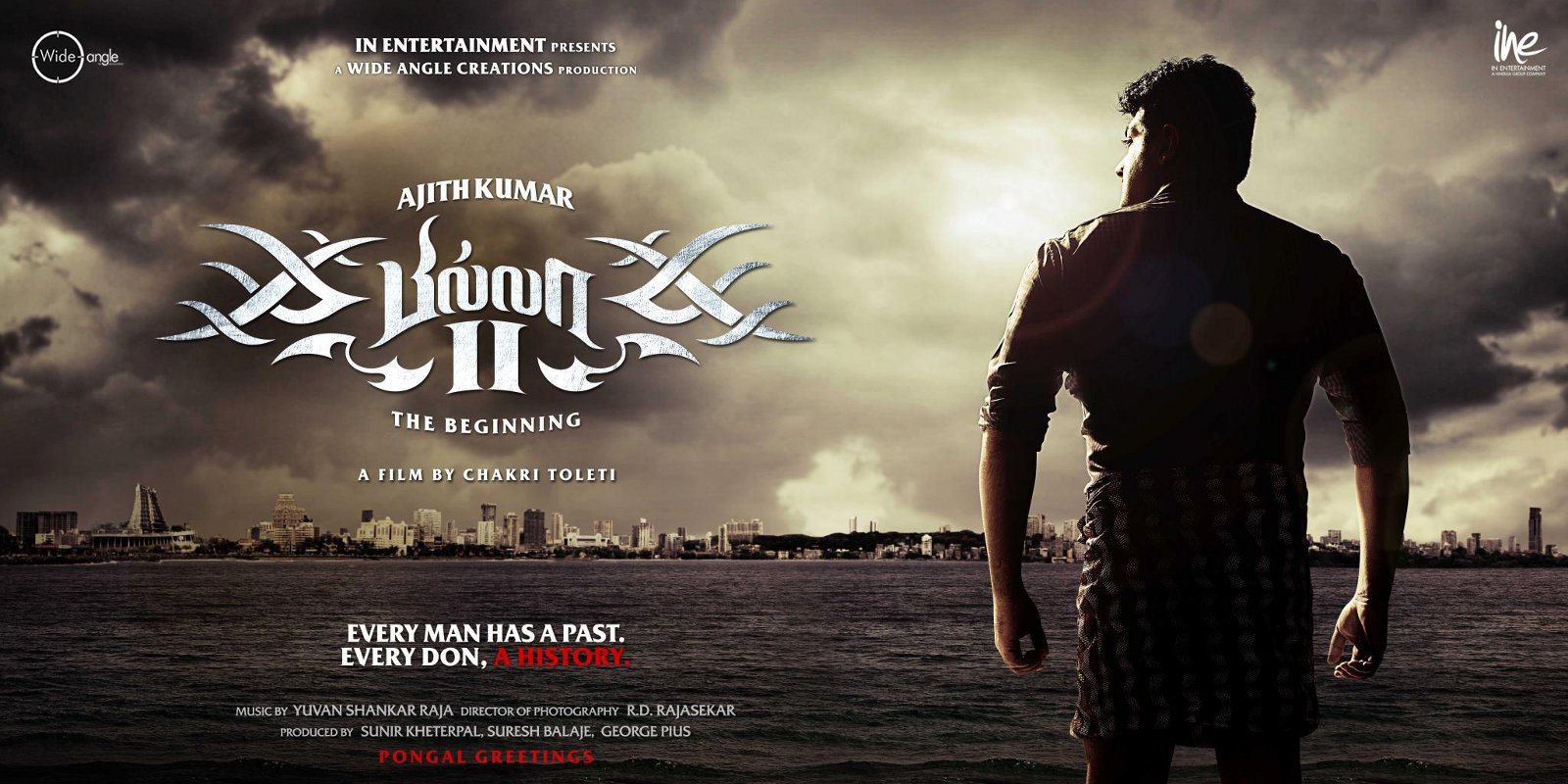 Billa 2 Movie Ajith HD Widescreen Wallpapers