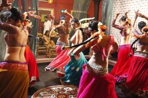 Meenakshi Dixit item song dance in Billa 2 Movie