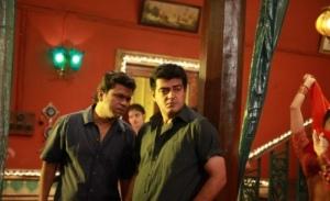 Ajith, Yog Japee in Billa 2 Latest Images